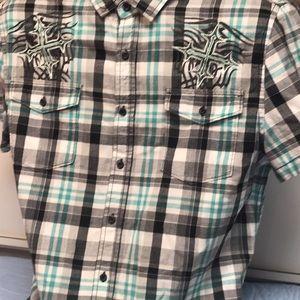 Route 66 XL Casual Short Sleeve Shirt